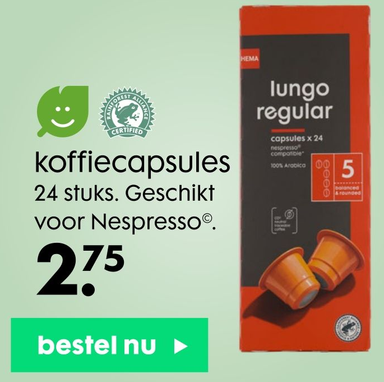 Koffiecapsules