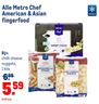 Alle Metro Chef American & Asian fingerfood
