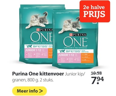 Purina One kittenvoer