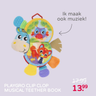 PLAYGRO CLIP CLOP MUSICAL TEETHER BOOK