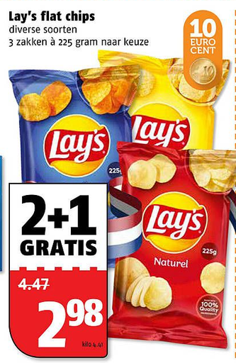 Lay's flat chips