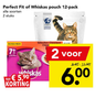 Perfect Fit of Whiskas pouch 12-pack