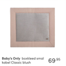 Baby's Only boxkleed smal kabel Classic blush