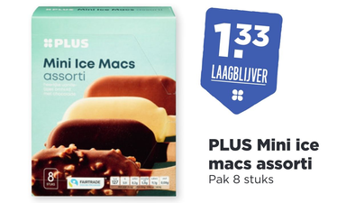 PLUS Mini ice macs assorti