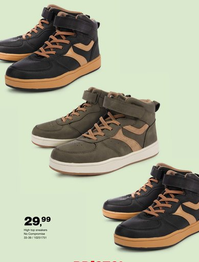 High top sneakers No Compromise 33 - 39
