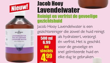 Jacob Hooy Lavendelwater