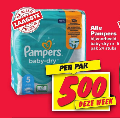 Alle Pampers in