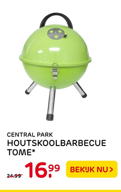 Central Park Houtskoolbarbecue Tome*