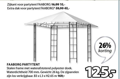 Faaborg Partytent