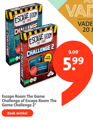 Escape Room The Game Challenge