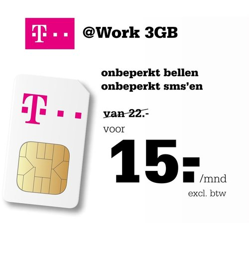 T-Mobile Work 3GB