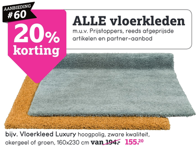 Vloerkleed Luxury