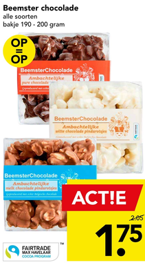 Beemster chocolade