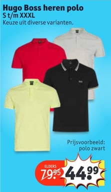 Hugo Boss heren polo