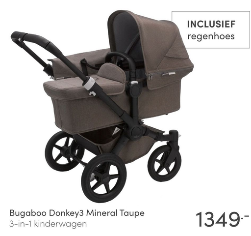 Bugaboo Donkey3 Mineral Taupe