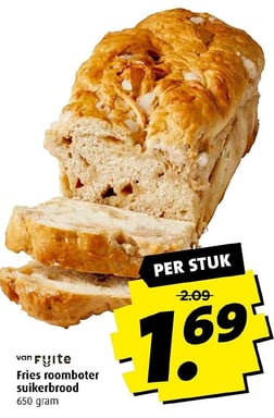 Fries roomboter suikerbrood