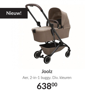 Joolz Aer, 2-in-1 buggy.