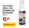 HG OVEN, GRILL EN BARBECUE REINIGER