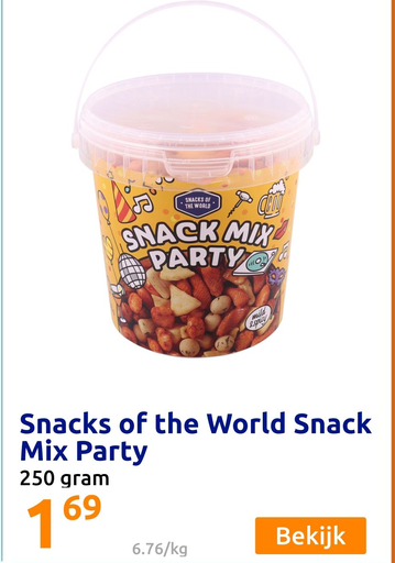 Snacks of the World Snack Mix Party