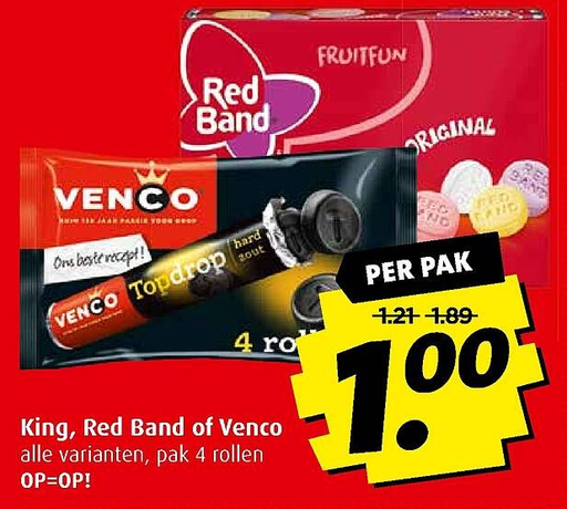 King, Red Band of Venco