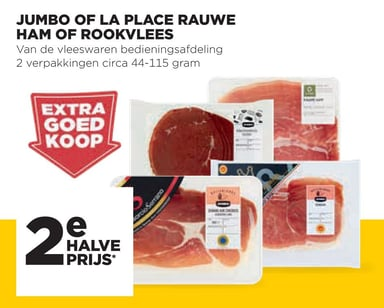 Jumbo Of La Place Rauwe Ham Of Rookvlees