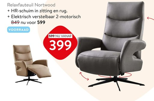 Relaxfauteuil Nortwood