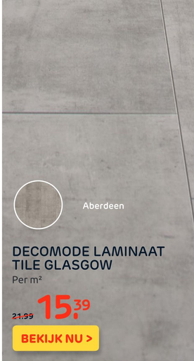 Decomode Laminaat Tile Glasgow