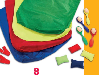 Out & About sports day 4-in-1 spellenset