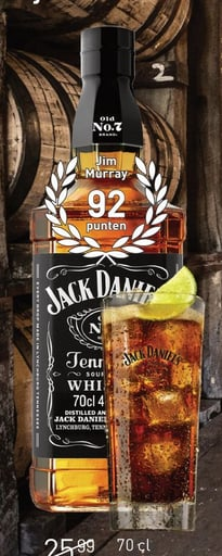 Jack Daniel's Tennessee 70CL Whisky