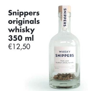 Snippers originals whisky