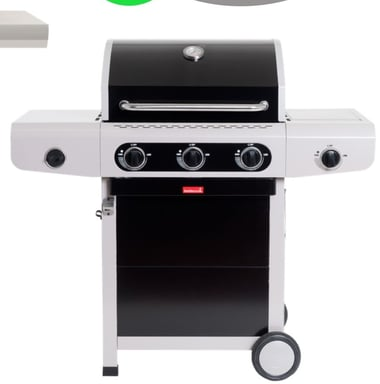 Barbecook gasbarbecue siesta 310 black edition