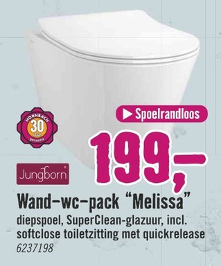 """Wand-wc-pack """"Melissa"""""""