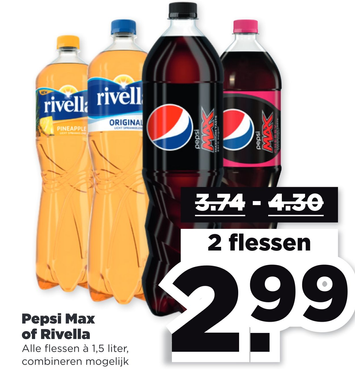 Pepsi Max of Rivella