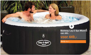 Bestway Lay-Z Spa Miami