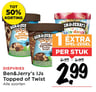 Ben&Jerry's IJs Topped of Twist