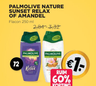 Palmolive nature sunset relax of amandel