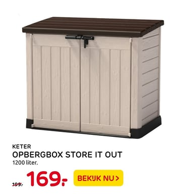 Keter Opbergbox Store It Out