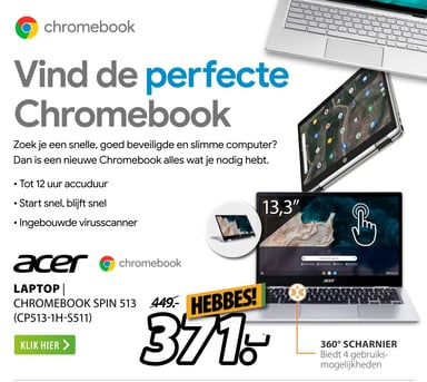 Acer Laptop | Chromebook Spin 513 (Cp513-1H-S511)