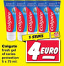 Colgate fresh gel of caries protection