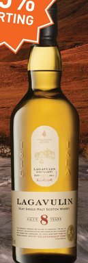 Lagavulin 8 Years 70CL Whisky