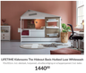 LIFETIME Kidsrooms The Hideout Basis Hutbed Luxe Whitewash