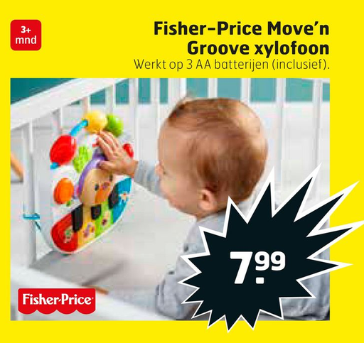 Fisher-Price Move'n Groove xylofoon