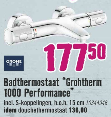 """Badthermostaat """"Grohtherm 1000 Performance"""""""