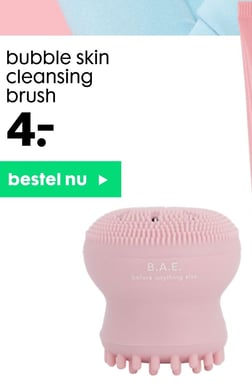 bubble skin cleansing brush