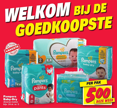Pampers Baby-Dry