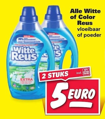 Alle Witte of Color Reus