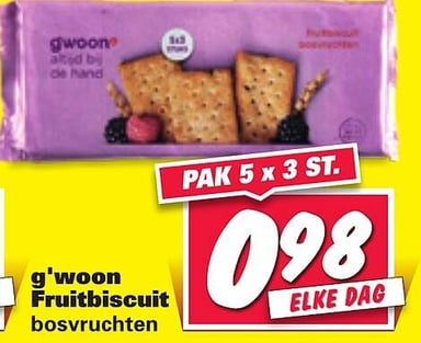 g'woon Fruitbiscuit