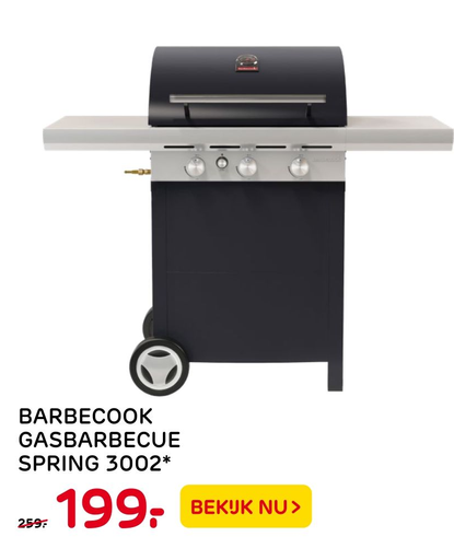 Barbecook Gasbarbecue Spring 3002