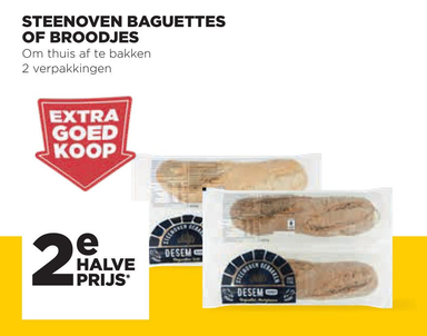 Steenoven Baguettes Of Broodjes