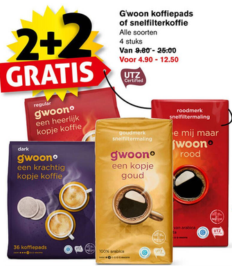 G'woon koffiepads of snelfilterkoffie